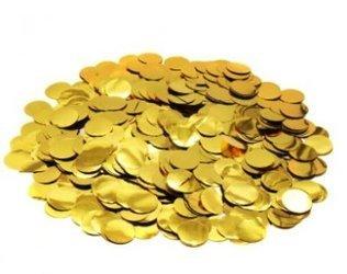 """Confetti  """"Gold Round"""" (50g.)"""