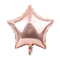 """Foil Star, RoseGold 18"""" (45cm.)"""