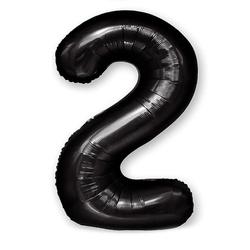 """Number """"2"""" Black (100cm.)"""