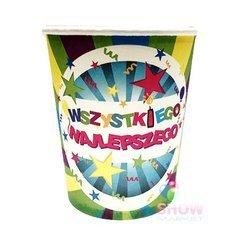 """Paper Cups """"Wszystkiego Najlepszego"""" (6 pcs.)"""