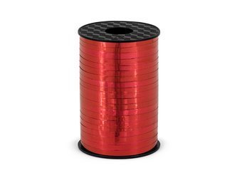 """Ribbon for balloons """"Red"""" (5mm*225m)"""
