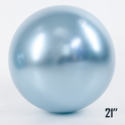 "Show™ 21"" CHROME,  Light Blue (1 pcs.)"
