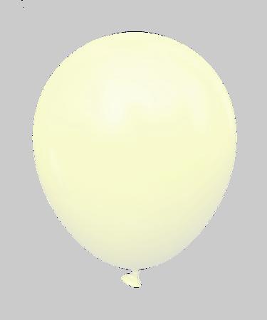 """Kalisan™  12"""" Yellow Macaron (25 pcs./pack.)"""