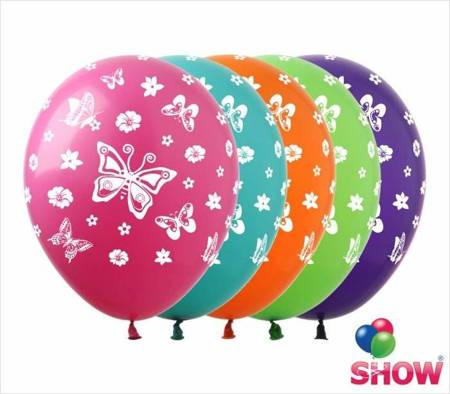 """SHOW™ 12"""" """"Butterfly"""" (10 pcs.)"""