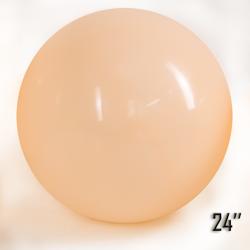 """Balon  24"""" Brzoskwiniowy (1 szt.)"""