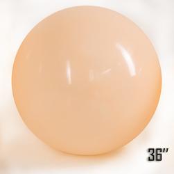 """Balon  36"""" Brzoskwiniowy Pastel (1 szt.)"""