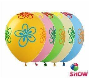 """Balony  """"Kwiaty"""" (10 szt.)"""