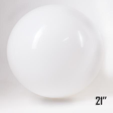 """Balon  21""""  Biały (1 szt.)"""