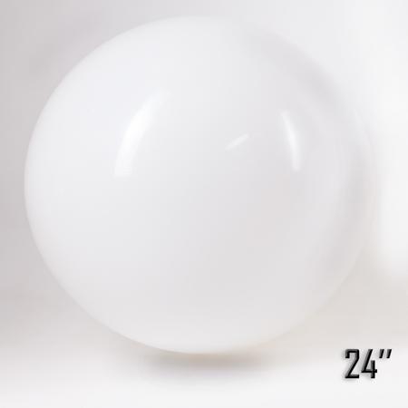 """Balon  24"""" Biały  (1 szt.)"""