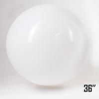 """Balon  36"""" Biały (1 szt.)"""